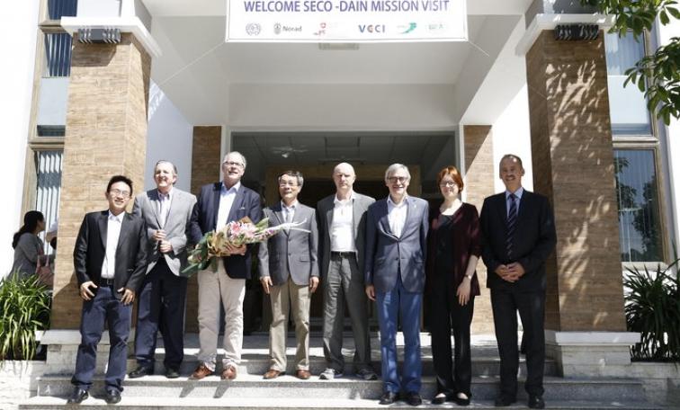 Remarks of SECO Labor Directorate at SCORE Vietnam factory - Lam Viet JSC